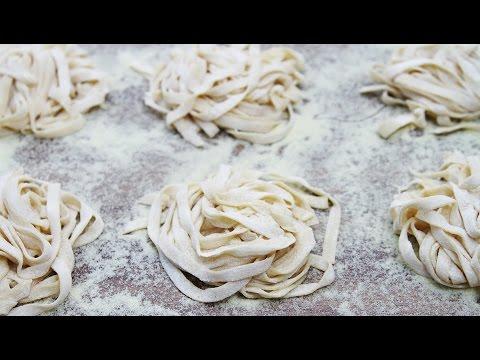 How to Make Homemade Pasta with Chickpea Flour (Garbanzo Bean Flour)