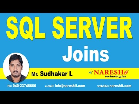 Joins in SQL Server - Part 1 | MSSQL Training Tutorial