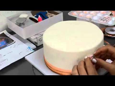 How to make cake Birthday cake for a Cake designer