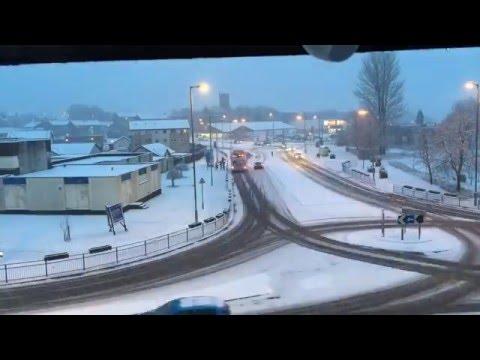 Snow in Kilsyth Jan 2016