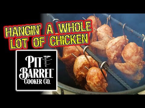 How To Smoke Chicken on the Pit Barrel Cooker