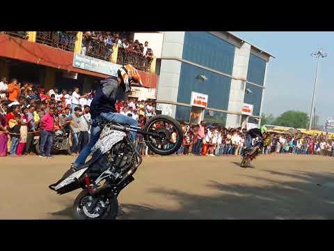 Roha mahotsav|bike stunts|2017
