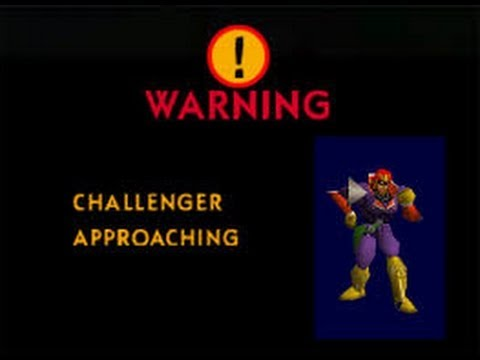 Super Smash Bros. N64 Unlocking Captain Falcon!