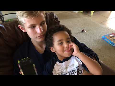 Kids real thoughts on being in a blended family: Vlog