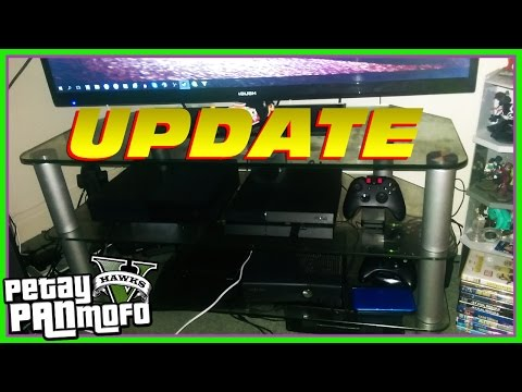 Update Video and My Gaming Setup (Thanks for 8,000 Subscribers)