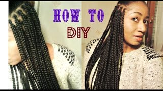 Diy Box Braids With Xpression Hair Reupload Due To Copyright