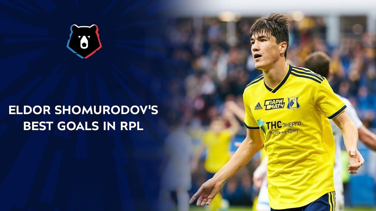 Eldor Shomurodov's Best Goals in RPL