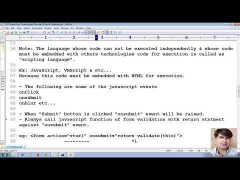 38 Advanced Java Servlet Tutorial | Validation