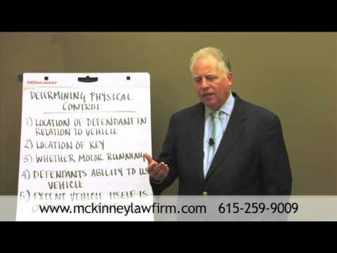 Non-Driving DUI Offense: Determining Physical Control