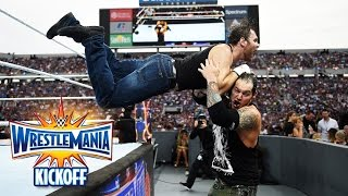Dean Ambrose vs. Baron Corbin - Intercontinental Title Match: WrestleMania 33 Kickoff