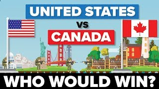 United States (USA) vs Canada - Who Would Win - Army / Military Comparison