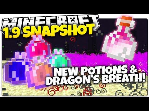 Minecraft 1.9 Snapshot | NEW