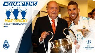 🏆🙌 Our Champions League celebrations | Sede de la Comunidad de Madrid