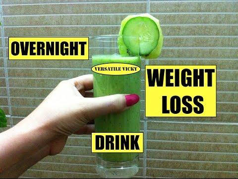 रातो रात वज़न कम करने का तरीका Overnight Weight Loss Drink Hindi Instant Flat Belly Fat Loss Diet