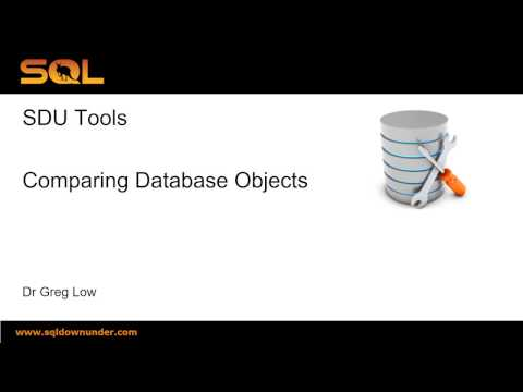 SDU Tools   11 SQL Server Database and Table Compare