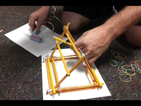 How to build an office supply trebuchet. TED 105