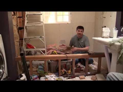 Making a tiled bathtub AKA a roman tub, Episode 1/3