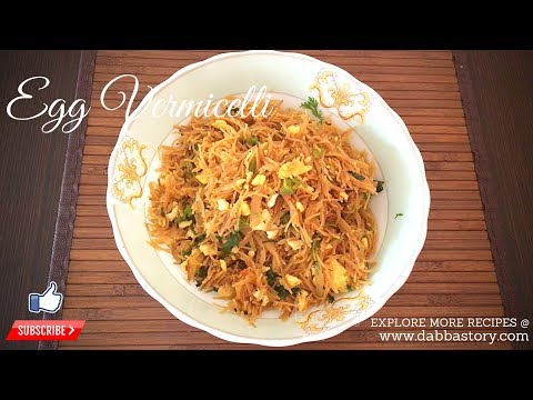 Egg Vermicelli Recipe   How To Make Egg Semiya   Sevai Upma Recipe