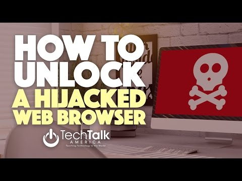 Unlock A Hijacked Web Browser [On A MAC]
