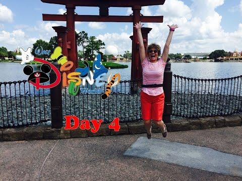 Walt Disney World Vacation Vlog #4 - Epcot, Shopping, Cape May, Beach Club Resort