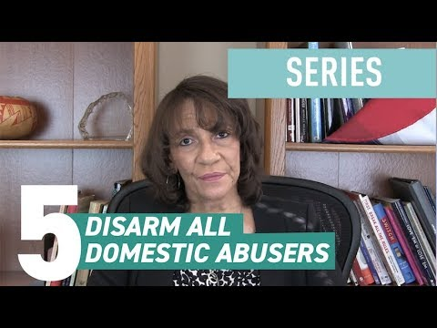 How to Reduce Gun Violence in America: Disarm All Domestic Abusers