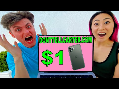 I SOLD HIS IPHONE FOR $1!! (HE WAS SO MAD)