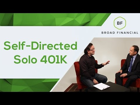 What is a Self-Directed Solo 401(k) & How Can I Use a Solo 401(k) to Jumpstart My Retirement Saving?