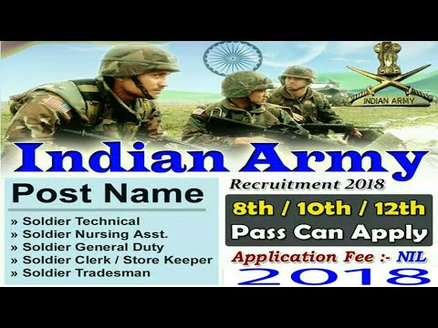 Indian army open Bharati rally new update