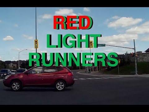 Red light runners Brampton dashcam