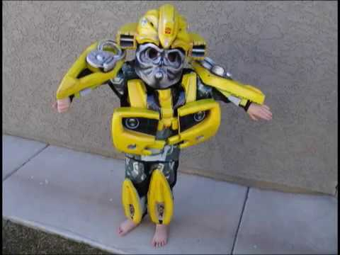 Make a Bumblebee Transformers Costume DIY