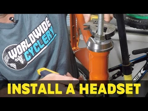 How to install a headset   Part 1 How to build a MTB