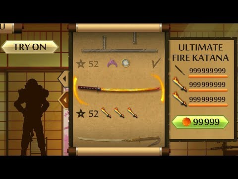 Download Shadow Fight 2 The Most Powerful FIRE KATANA