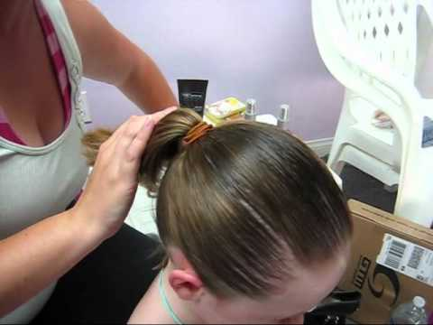 How to make a bun- for short hair