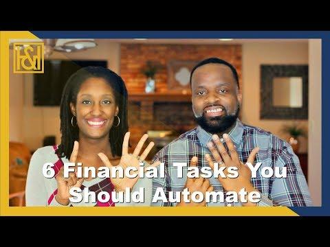 6 Financial Tasks You Should Automate