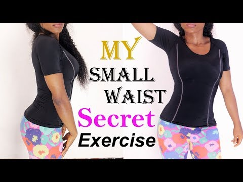 Secret workout to get small waist & flat tummy |how to get a smaller waist with vacuum exercise