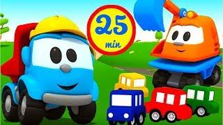Cartoni animati per bambini leo e il grosso camion grosse
