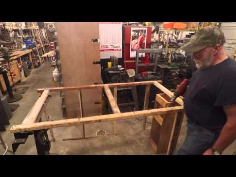 How to build the frame for hanging all wire rabbit