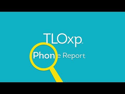 Phone Report - TLOxp
