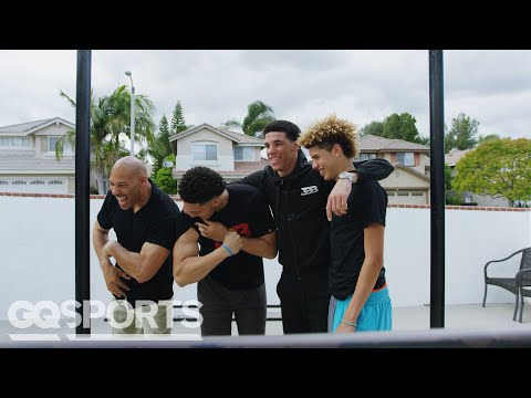 LaVar Ball Explains How His Sons Became the Most Dominating Basketball Players Ever | GQ