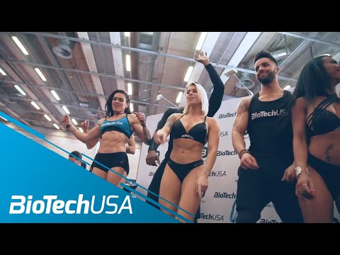 Salon Body Fitness 2018 Paris - 3rd Day - 18 March -BioTechUSA