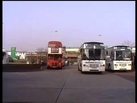 London Heathrow Bus Station 1992 A Fred Ivey Film