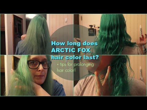 How Long Does Arctic Fox Hair Color Last? + Prolonging Hair Color Tips