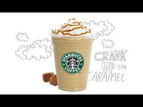 DIY Starbucks Caramel Frappuccino