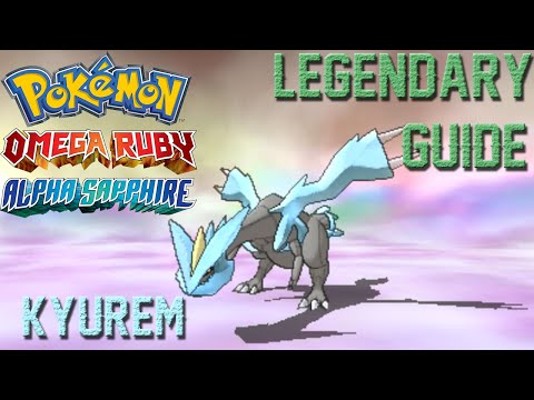 Getting Kyurem ORAS