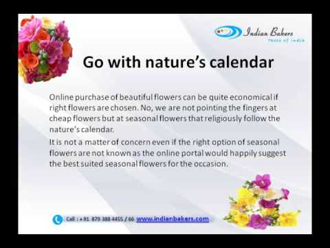 Top Tips To Buy Flowers Online/Send Flowers to India - indianbakers.com