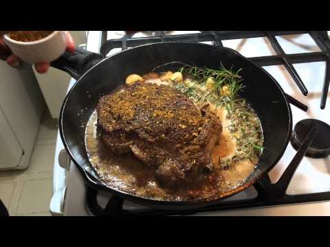 Cooking Steak in Cast Iron | The Constant Flip Method