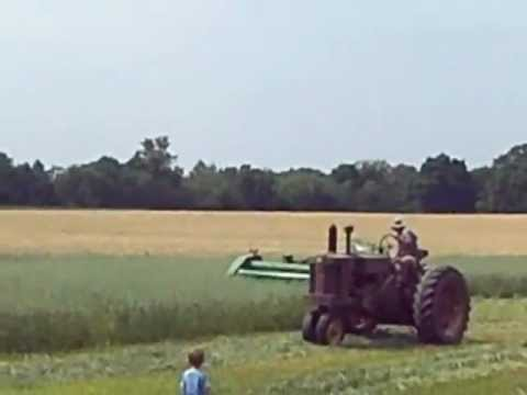Cutting the hayfield