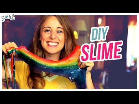 DIY Rainbow Slime! - Do It, Gurl