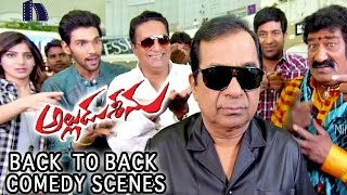 Alludu Seenu Back To Back Comedy Scenes || Bramanandam, Samantha, Venela Kishore,