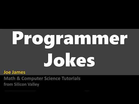 More Programmer Jokes  #1